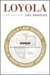 Loyola of Los Angeles Law Review